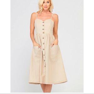 Dresses & Skirts - Sarah Linen Fit & Flare Dress